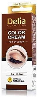 Delia Henna color Cream Eyebrow Professional 4.0Brown