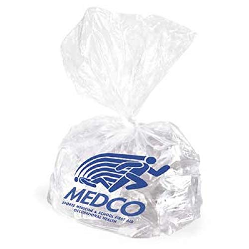 Sammons Preston Medco Sports Medicine University Ice Bag, Comes in a Case of 500 Bags, Reusable, Strong, and Durable Ice Bag, Rely on The Tough Bag to Carry Your Ice and Protects it from Punctures
