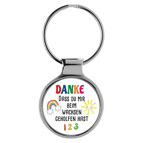 KIESENBERG Schlüsselanhänger Geschenk Kindergärtner Kindergärtnerin Erzieher Erzieherin Danke Abschied A-90405