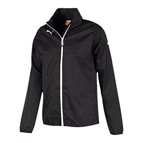 PUMA Herren Jacke Rain Jacket, Black/White, L, 653968 03