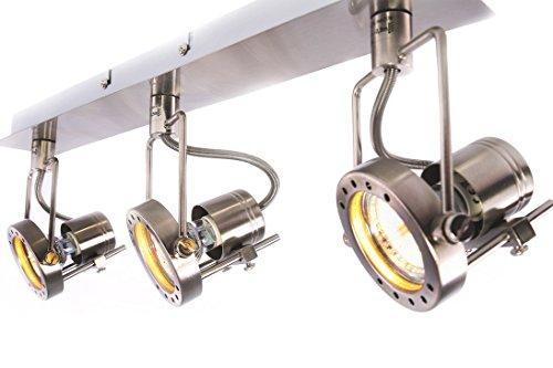 AKTION -25% bis 20 Uhr | LED Deckenleuchte, Wandleuchte, Wandstrahler, 3 Flammig, Lampe (sond3j)