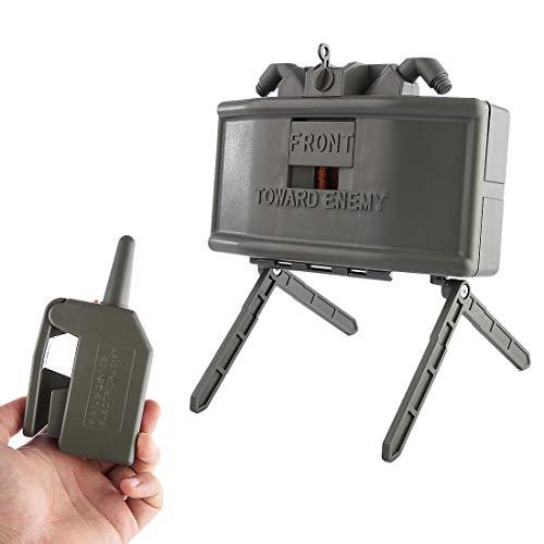 Jo332Bertram Remote Detonation Device Launcher Wasserbomben Fernbedienung Detonierenden Claymore Mine Landmine Spielzeug für Nerf CS Spiel