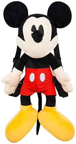 SAMBRO Disney Mickey Mouse Mochila de peluche, 22