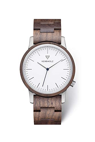 KERBHOLZ Reloj de Madera - Classics Collection Walter Reloj analógico