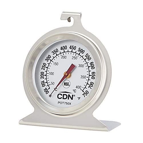 CDN POT750X ProcAccurate High Heat Oven Thermometer