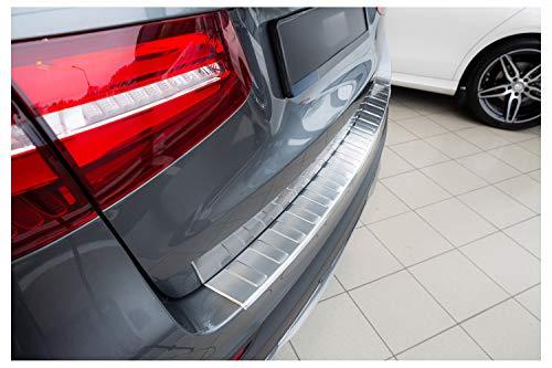 tuning-art BL923 Ladekantenschutz mit Abkantung für Mercedes GLC X253 2015-