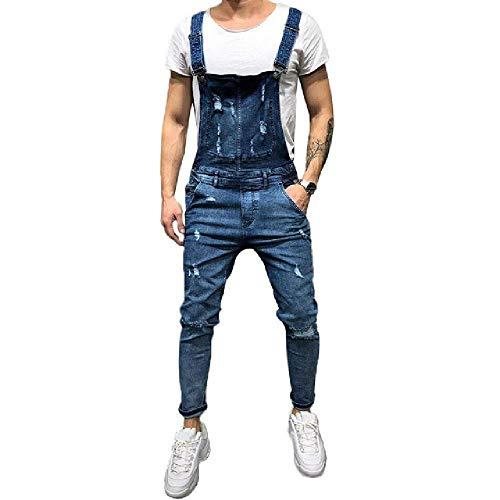 U/A Men's Jeans Overalls Pants Joggers Men Jeans Jeans for Men Black Casual Pants
