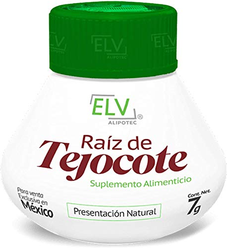 Nutraholics Original ELV Tejocote Root Treatment - 1 Bottle (3 Month Treatment) - Most Popular, All-Natural Weight Loss Supplement in Mexico