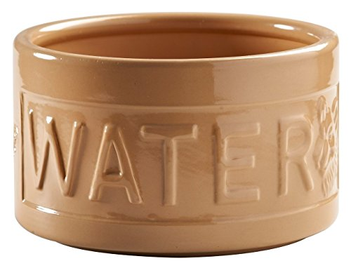 Mason Cash Lettered Water Bowl for Dogs, Cane, 15