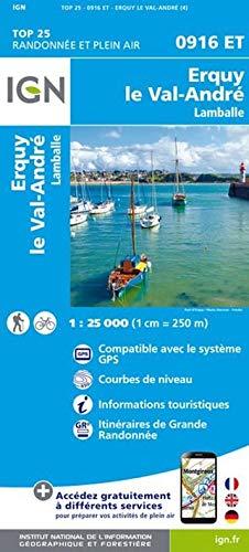 Erquy / Val-Andre / Lamballe 1 : 25 000
