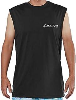 VOLCOM(ボルコム) 2019年春夏モデル メンズ タンクトップ SURF MUSCLE TANK TEE ラッシュガード 品番:N37219G1 BLACK(ブラック)