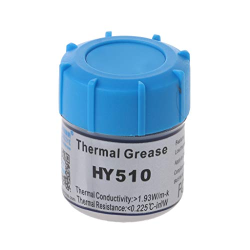 JOYKK 15g HY510 CPU Compuesto de Grasa térmica Pasta de Silicona conductora de Calor - Gris