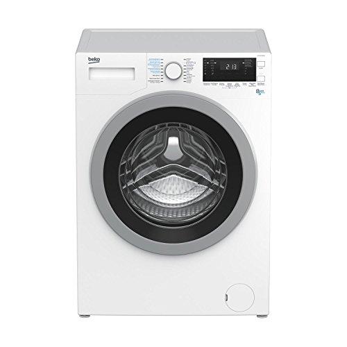 Beko HTV 8633 XS0 Independiente Carga frontal A Blanco lavadora - Lavadora-secadora (Carga frontal, Independiente, Blanco, Giratorio, 5 kg, 1400 RPM)