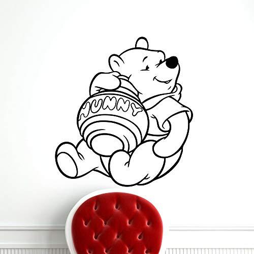 Sticker mural Winnie l'Ourson Sticker mural autocollant Winnie l'Ourson pour chambre d'enfant chambre d'enfant