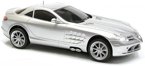 Unbekannt Mercedes-Benz SLR McLaren AMG Coupe Schwarz 2003-2009 1//43 Modellcarsonline Modell Auto