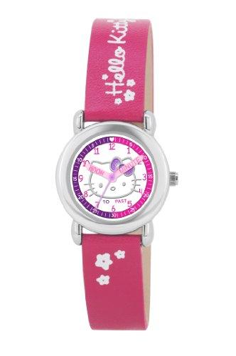 Hello Kitty HK024 - Reloj Infantil, Correa de plástico Color Rosa