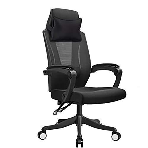 Qi Peng Chaise pivotante - Chaise pour ordinateur à la maison Chaise de bureau inclinable pour déjeuner Repose-fauteuil respirant Chaise pivotante Chaise Esports Chair Chaise de jeu Chaise pivotante