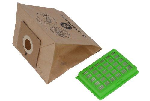 Tefal, filtro HEPA e sacchetti di carta per aspirapolvere Moulinex Rowenta