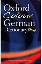 Oxford Colour German Dictionary Plus by Nicholas Rollin - Paperback