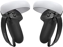 KIWI design [Pro versie] Grip Cover voor Oculus Quest 2 Touch Controller Grip Accessoires Anti-Gooi Handvat Beschermende...
