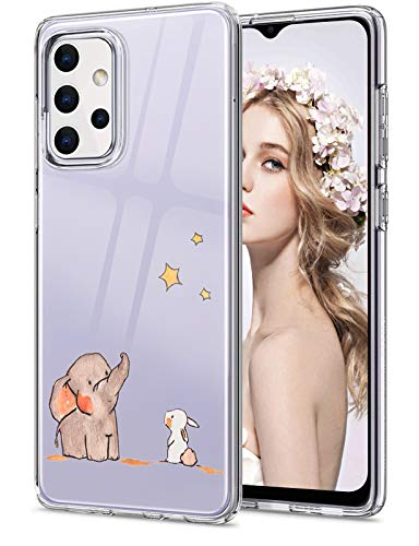 für Samsung Galaxy A32 Hülle für Frauen Männer Sport Silikonhülle Samsung A32 Schutzhülle Stoßfest Silikon Hülle Tier Süß Weich Tasche Samsung A32 5G Hülle für Samsung Galaxy A32 Handyhülle 2021