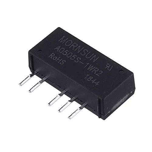 BINGFANG-W Motor Driver A0505S-1WR2 A0505S DC-DC Isolation Power Supply High Efficiency Module Input 4.5-5.5V Output ±5V Wood Shaving Tools 3D Printer