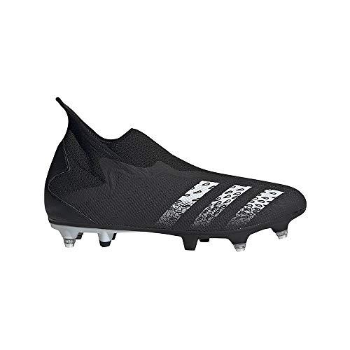 adidas Predator Freak .3 LL SG, Zapatillas de fútbol Hombre, NEGBÁS/FTWBLA/NEGBÁS, 40 EU