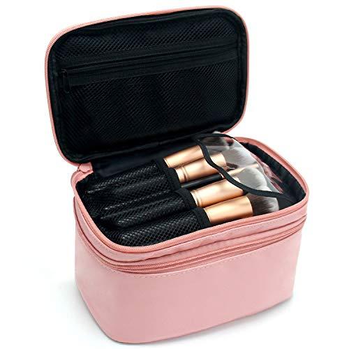 Relavel Cosmetic Bag Makeup Bag 2 Layer Travel Accessories Cosmetics Makeup Case Organizer Bag