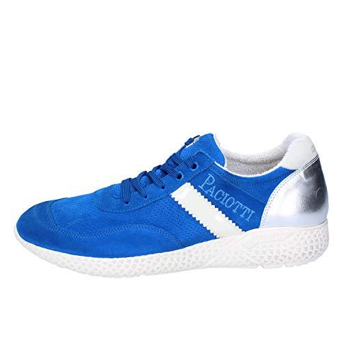 Cesare Paciotti 4US Sneaker Uomo Pelle Scamosciata Blu 39 EU