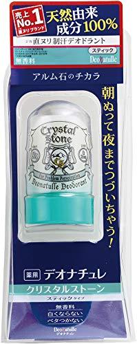 Deonatulle Deodorant Crystal Stone 60g