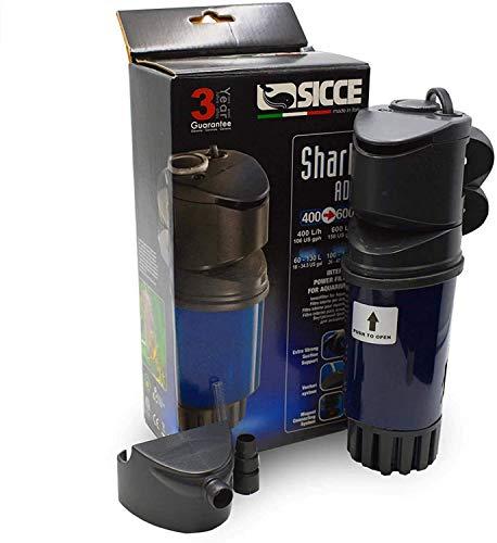 Sicce Shark ADV 600 Filtre interne pour aquarium 158 l/h