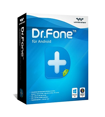 Dr.Fone Android Komplett- Suite WIN (Product Keycard ohne Datenträger)