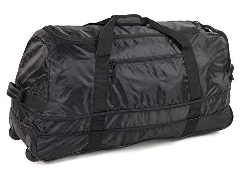 JB Ultralight 1.1kg! Folding XL 120L Expanding Wheeled Travel Duffle Luggage Bag
