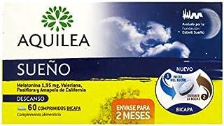 AQUILEA SUEÃO MELATONINA 1.95 + VALIANA + PASIFLORA + AMAPOLA DE CALIFORNIA 60 COMPRIMIDOS