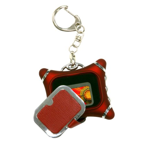 NEXTAR N1-101 1.1-Inch Red Key Chain Photo Viewer