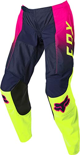 Fox Racing Womens 180 VOKE Pant, Fluorescent Yellow, 6