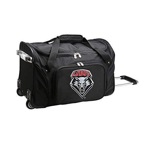 Learn More About NCAA New Mexico Lobos Wheeled Duffel Bag, 22-inches