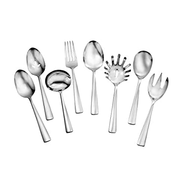 Oneida Chef's Table Dinnerware and Flatware Separates (8-Pc Serve Set FW)