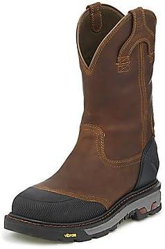 Justin Men's Warhawk Waterproof Work Boot Composite Toe