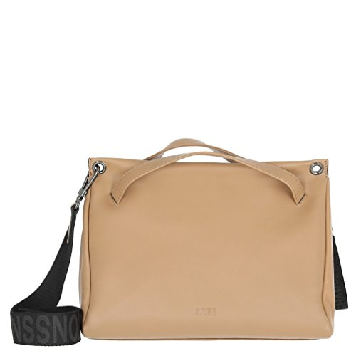 BREE Damen Misaki 1, Toasted Coconut, Sh. Bag W18 Schultertasche Beige (toasted coconut, sh.)