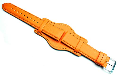 20mm piel de ternero Reloj pulseras para mujer en diferentes colores hecha en Alemania piel con base