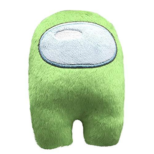 Mliu Among Us Plüschtier, weiche ausgestopfte Puppe niedliche Astronaut Spielzeug Figur, Charakter Spiele Zubehör Dekoration, Geschenk für Kinder Erwachsene