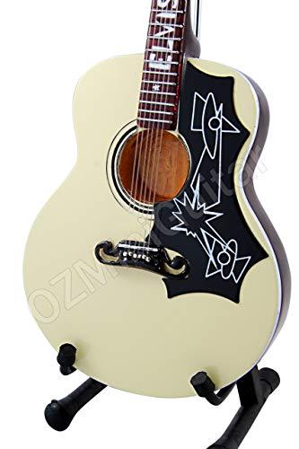 OZMiniGuitar Guitarra Acústica Miniatura Elvis Presley