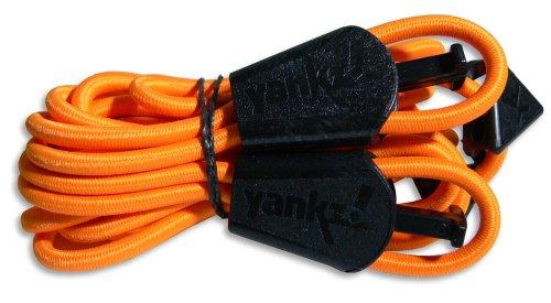 YANKZ - das Schnürstystem - Cordón de Zapatos Naranja Naranja neón Talla:Talla única