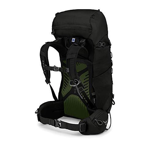 Osprey Packs Kestrel 38 Backpack, Black, Small/Medium