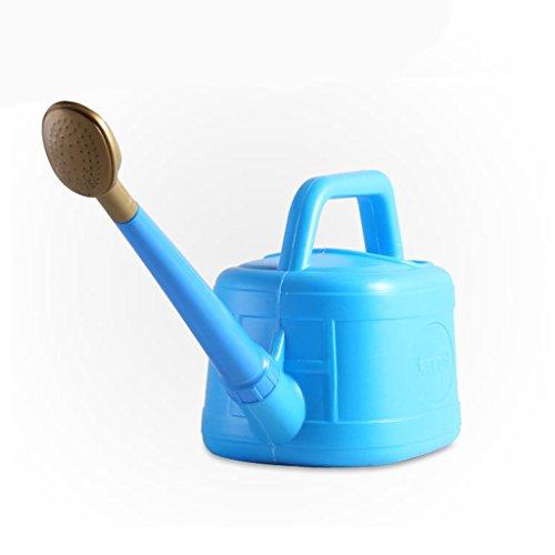 Wddwarmhome L'arrosoir bleu 3.5L jardinage a épaissi le pot d'arrosage tenu dans la main de pot d'arrosage