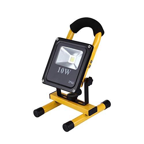 RONGW JKUNYU 10W 900LM Vida Impermeable LED Recargable portátil Delgado del Reflector de la lámpara, Linterna AC 100-250V Iluminación
