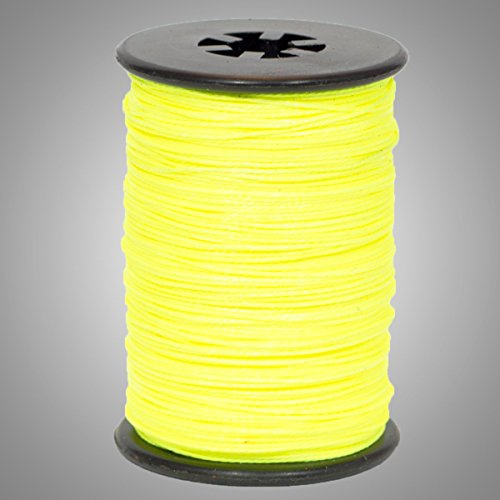 BCY Flo Yellow 3D Archery Bow String Serving