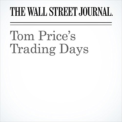 Tom Price's Trading Days copertina