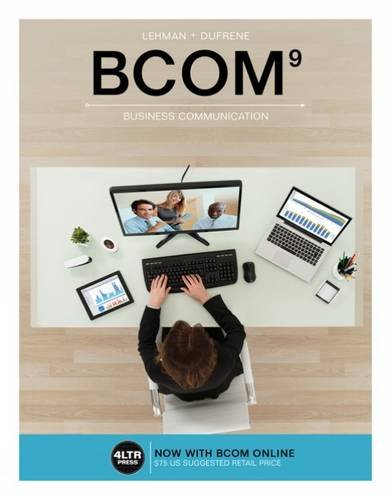 BCOM (with BCOM Online, 1 term (6 months) Printed Access Card) (New, Engaging Titles from 4LTR Press)